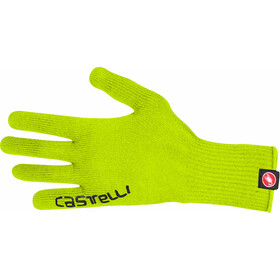 Castelli Corridore Gloves yellow fluo